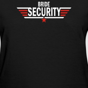 Bride Security - Women's T-Shirt
