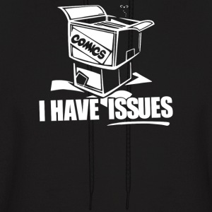 Comic Book I Have Issues - Men's Hoodie