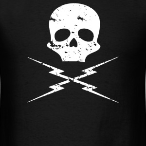 death proof skull - Men's T-Shirt