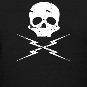 death proof skull - Women's T-Shirt