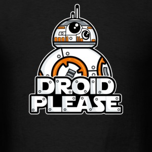 droid please - Men's T-Shirt