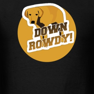 Down Rowdy the Dog - Men's T-Shirt