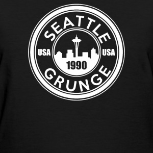 Grunge Seattle 1990 - Women's T-Shirt