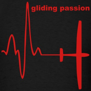 heartbelt gliding - Men's T-Shirt