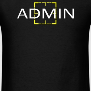 Harold Finch Admin - Men's T-Shirt