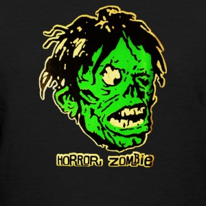 horror zombie - Women's T-Shirt