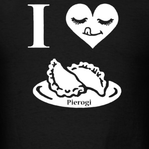 I love Pierogi - Men's T-Shirt