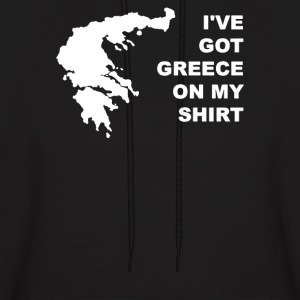 I've Got Greece On My Shirt - Men's Hoodie
