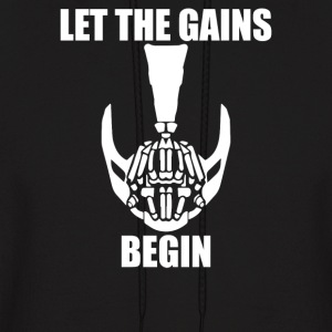 Let The Gains Begin - Men's Hoodie