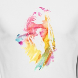 Watercolor Girl - Men's Long Sleeve T-Shirt by Next Level