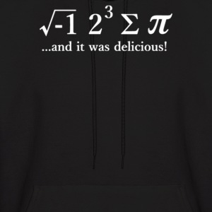 Math And I Was Delicious! - Men's Hoodie