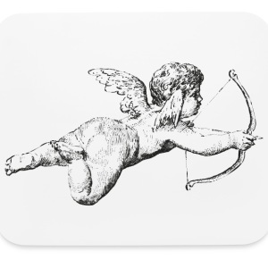 Christmas Love Angel Other - Mouse pad Horizontal