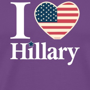 i_love_hillary - Men's Premium T-Shirt