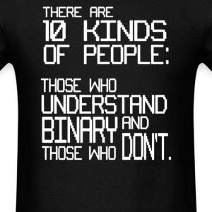 10 Kinds of People - Men's T-Shirt