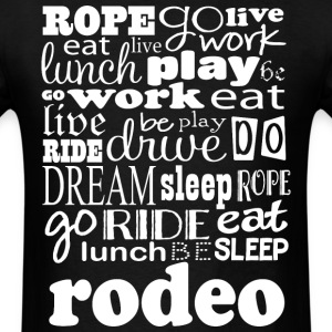 Rodeo Roping Riding Sports T-Shirts - Men's T-Shirt