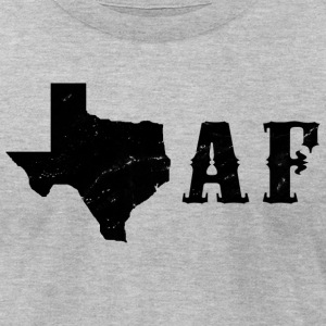 Texas AF T-Shirts - Men's T-Shirt by American Apparel
