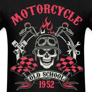 Motocycle Tshirs - Men's T-Shirt
