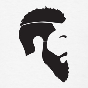 Beard Man - Men's T-Shirt