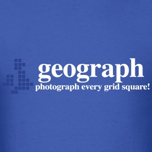 Geograph Britain and Ireland - Men's T-Shirt