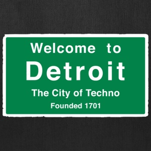 Detroit The City of Techno - Tote Bag
