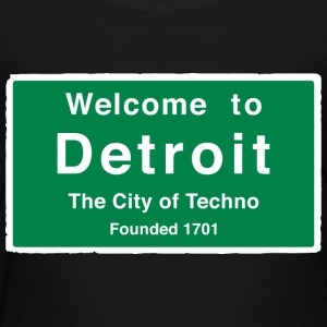 Detroit The City of Techno - Kids' Premium T-Shirt