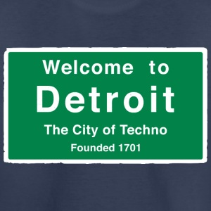 Detroit The City of Techno - Toddler Premium T-Shirt