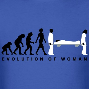 evolution_female_paramedic_09_201601_3c T-Shirts - Men's T-Shirt