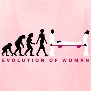 evolution_female_paramedic_09_201602_3c Kids' Shirts - Kids' T-Shirt