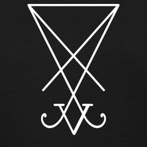 lucifer sigil b - Women's T-Shirt