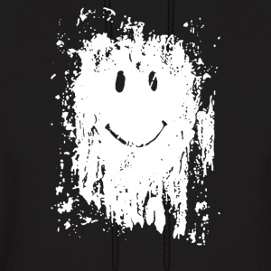 Mud Splatter Smiley Face - Men's Hoodie