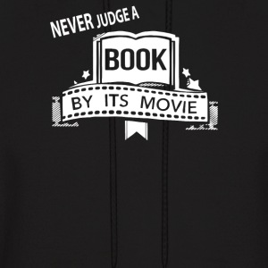 never judge movie by its book - Men's Hoodie