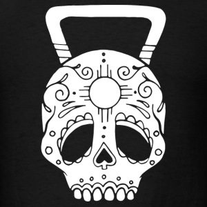 Premium New Mexico True Kettlebell Skull - Men's T-Shirt