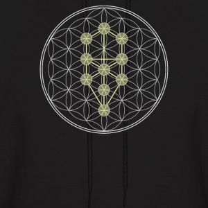 Tree of Life kabbalah - Men's Hoodie
