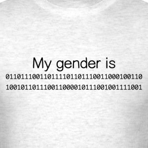 My Gender Is (nonbinary) In Binary - Men's T-Shirt
