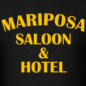 Mariposa saloon & hotel - Men's T-Shirt