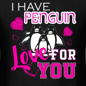 Love Penguin Shirt - Men's T-Shirt