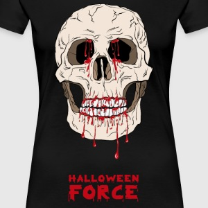 Halloween Bloody Skull  - Women's Premium T-Shirt
