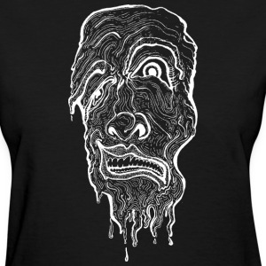 Melting Face - Women's T-Shirt