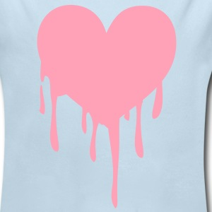 melting heart Baby Bodysuits - Baby Long Sleeve One Piece