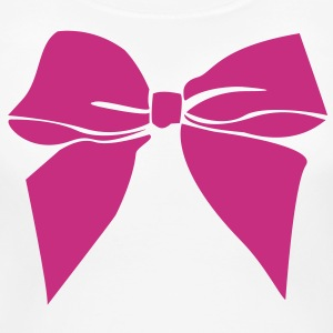 Cute ribbon bow - Women's Maternity T-Shirt