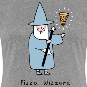 wizard pizza - Women's Premium T-Shirt