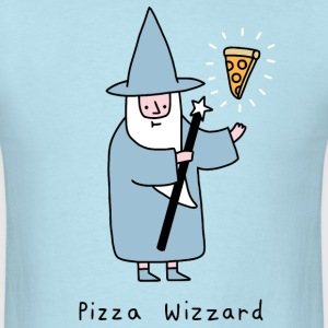 wizard pizza - Men's T-Shirt
