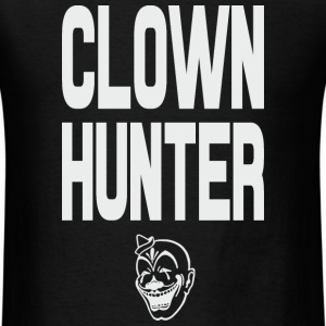 Clown Hunter grey T-Shirts - Men's T-Shirt