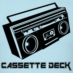 Cassette Deck - Men's T-Shirt