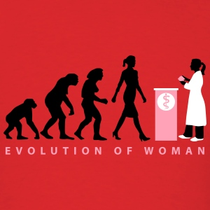 evolution_female_pharmacist_09_201602_3c T-Shirts - Men's T-Shirt