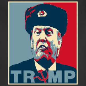 Trump Russian Poster tee Aprons - Adjustable Apron