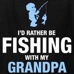 Fishing With My Grandpa Kids' Shirts - Kids' T-Shirt