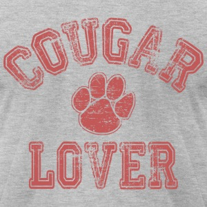Cougar Lover T-Shirts - Men's T-Shirt by American Apparel