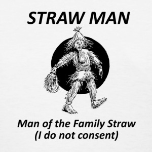 Straw Man F - Women's T-Shirt