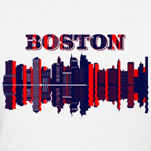 boston skyline T-Shirts - Women's T-Shirt